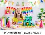 Kids Birthday Party. Child...