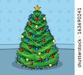 digital illustration featuring...   Shutterstock . vector #163690241