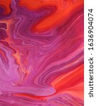 Lilac Red Marble Abstract...