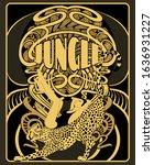 jungle. vector  hand drawn ...   Shutterstock .eps vector #1636931227