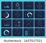 big set of infographics...   Shutterstock .eps vector #1637017321