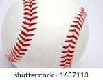 baseball   Shutterstock . vector #1637113