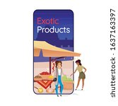 exotic products cartoon...