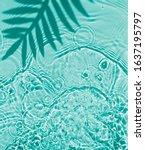Blue Water Texture Background...