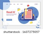 online library concept banner...