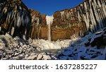 Beautiful Svartifoss Waterfall...