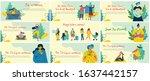 concept of women unique...   Shutterstock .eps vector #1637442157