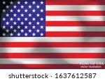 happy america day background.... | Shutterstock .eps vector #1637612587