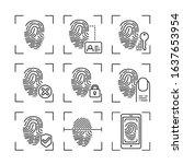 fingerprint scan provides...