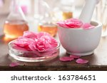 alchemy and aromatherapy with... | Shutterstock . vector #163784651