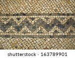 Mosaic Tiles With Squares And...