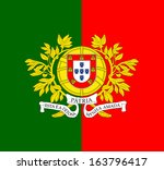 original and simple portugal... | Shutterstock .eps vector #163796417