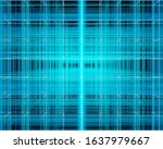 blue glowing squares  abstract...