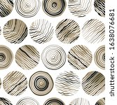 hand drawn doodle circles... | Shutterstock .eps vector #1638076681