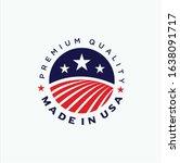 united states logo design... | Shutterstock .eps vector #1638091717
