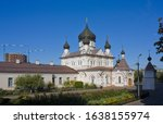 Cathedral of the Protection of the Blessed Virgin of Pokrovsky Nunnery in Kyiv, Ukraine