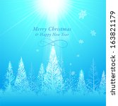 christmas graphic design... | Shutterstock .eps vector #163821179