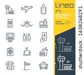 Lineo Editable Stroke   Airport ...