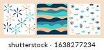 trendy evil eyes seamless... | Shutterstock .eps vector #1638277234