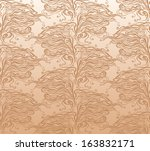 caramel seamless pattern. | Shutterstock .eps vector #163832171