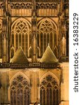 detail of gothic cathedral in... | Shutterstock . vector #16383229