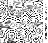 Black And White Wavy Lines...