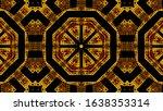 geometric kaleidoscope...   Shutterstock . vector #1638353314