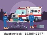 healthcare providers provide... | Shutterstock .eps vector #1638541147