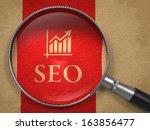 seo   internet concept ... | Shutterstock . vector #163856477