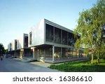 modern office building | Shutterstock . vector #16386610