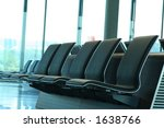 waiting lounge in an airport. | Shutterstock . vector #1638766