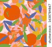 Mixed Orange Seamless Pattern...