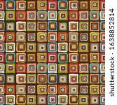 vintage colorful squares... | Shutterstock . vector #1638852814