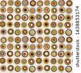 retro colorful seamless pattern ... | Shutterstock . vector #1638853174