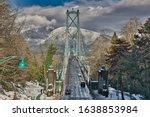 Lions Gate Bridge On The...