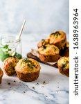 Savory Muffins With Pesto...