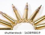 high caliber ammo | Shutterstock . vector #163898819
