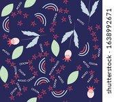 childish seamless pattern made... | Shutterstock .eps vector #1638992671