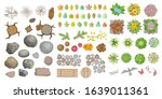 Vector Set. Objects Of A Forest ...