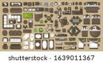 icons set of interior.... | Shutterstock .eps vector #1639011367