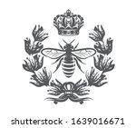 vector monochrome illustration...   Shutterstock .eps vector #1639016671