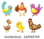 illustration of the different... | Shutterstock .eps vector #163903769