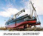 Shipyard Quay.modern Ship In...