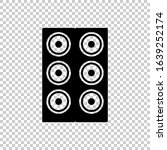 speaker sound icon isolated on...
