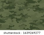 seamless camouflage pattern.... | Shutterstock .eps vector #1639269277