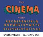font. abstract  modern alphabet ...   Shutterstock .eps vector #1639299151