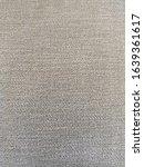 Small photo of Gray fabric mundane texture textile cloth