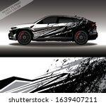 car wrap decal design vector ... | Shutterstock .eps vector #1639407211