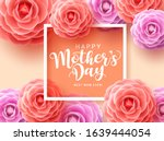 mother's day vector greetings... | Shutterstock .eps vector #1639444054