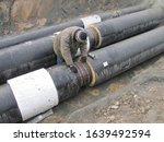builder man and industrial...   Shutterstock . vector #1639492594